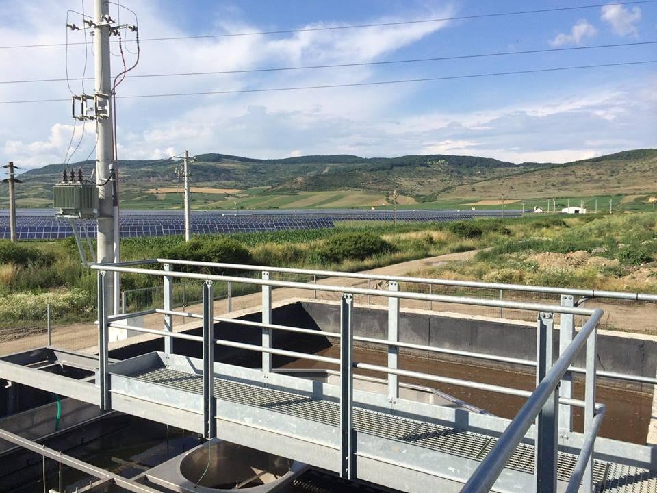 Stație de epurare și canalizare in comuna Covăsînț, județul Arad - Poze - S.C. CONIZ ROMARG S.R.L.