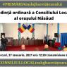 Consiliul Local Năsăud se reuneşte în prima şedinţă ordinară din 2021! Vezi proiectele de pe ordinea de zi!